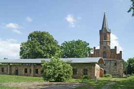 Klosterkirche u. Klosterruine Altfriedland