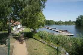 Flussbadeanstalt im Spreepark Beeskow