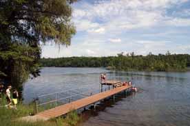 Badestelle Schwarzer See