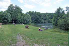 Badestrand Trebuser See