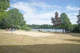 Badestelle Langer See