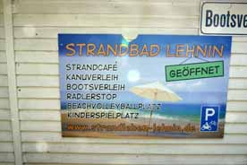 Strandbad Lehnin am Klostersee