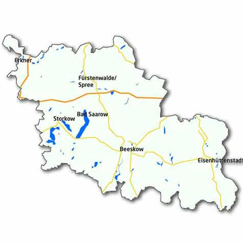 Land Brandenburg Oder Spree